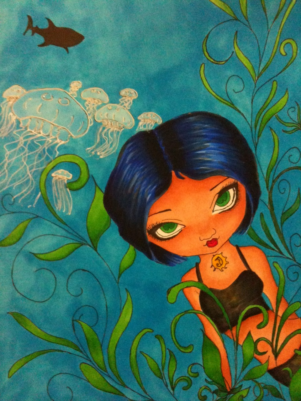 Fan art by Samantha Ling: Aluna from Above World