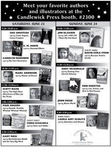 ALA 2012 - Candlewick Program