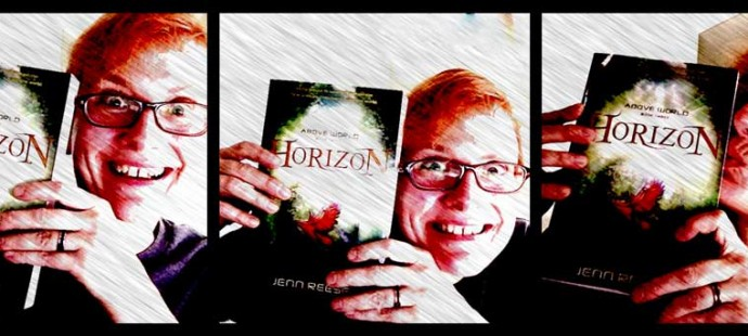 Upon receiving my copy of the HORIZON paperback